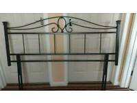 5ft King-size Metal Headboard