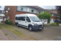 17 seater MINIBUS HIRE WITH DRIVER FOR ANY OCCASION