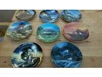 Rob johnson, porcelain plates