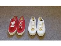 Two pair of Plimsoles for sale