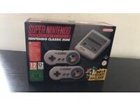 Super Nintendo mini console game