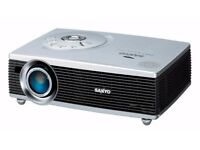 PROJECTOR SANYO PLC-sw30 for watch film play games good condition. Bargain WITH LEADS May swap.
