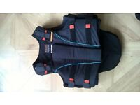 horse riding back/body protector Airowear size Y3 long
