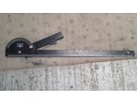 STEEL METRIC BEVEL GAUGE: Builders/Roofers