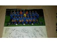 Signed by Chelsea football player