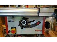 Table Saw, Thicknesser, Dust Extraction System (Bundle)