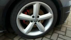 Audi S line 18 alloys
