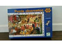Observation Jigsaw Puzzle by Djeco