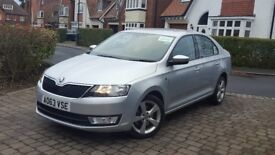 2014 SKODA RAPID 1.4 TSI DSG PRIVATE HIRE WOLVERHAMPTON TAXI PLATED 46K LOW MILES LONG MOT
