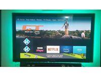Samsung 50inch 3D Plasma freeveiw full HD, TV and glasses