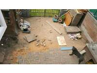 Lay 20sqm of Block Paving Garden Job