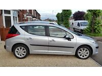 Peugeot 207sw 1.4 sport ac 2009 [very clean looking car with low mileage]!!!!!