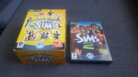 The Complete Collection of the Sims (The Sims 1) and The Sims 2 main game for PC