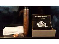Authentic Copper Rig V2 & Roughneck RDA Patina'd ( Boxed / Paperwork ) Mod / Vape / Vapour / Ecig