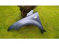 Ford Focus 2006 front nearside passenger wing Jeans Blue