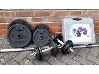 DOMYO WEIGHTS SET WITH DUMBBELLS