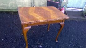 Very rare vintage, The Maltby convertible dining table/ card table