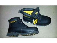 CAT Caterpillar Holton Steel Toe Cap Boots