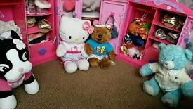 Large lot of Build a bear