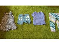 H and m, mothercare and various girls clothes 9-12 months