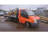 Ford transit recovery face lift new body new winch air suspension full mot
