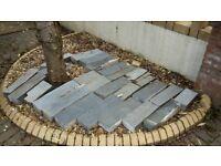 Slate Blocks! Heavy solid edging decorative block raised bed
