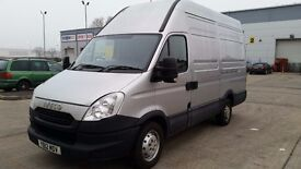 2012 IVECO DAILY 35S13 MWB - SERVICED,NEW MOT, EXTRA EXTRA HIGH ROOF 10.8 ft,ONE OWNER,NO VAT