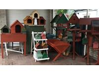 Bird Tables , Bird Boxes, Animal Shelters