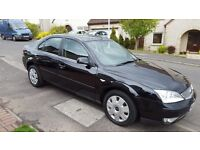 06/56 FORD MONDEO 1.8 LX FINISHED IN PANTHER BLACK ONLY 89000, 12 MONTHS MOT.