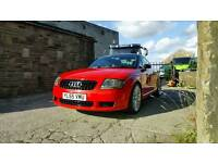 2006 Audi TT 240 Quattro Sport** VERY RARE AND COLLECTABLE CAR, FULL HISTORY, 293 BHP**