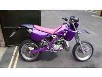 Kawasaki kdx 125sr super moto