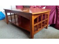 Large coffee table for sale