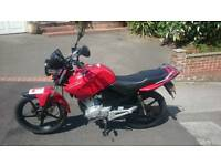 Yamaha YBR 125 2011 only 5200 Miles From New (Not cbf cbr)