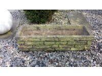 Concrete garden trough free to take away