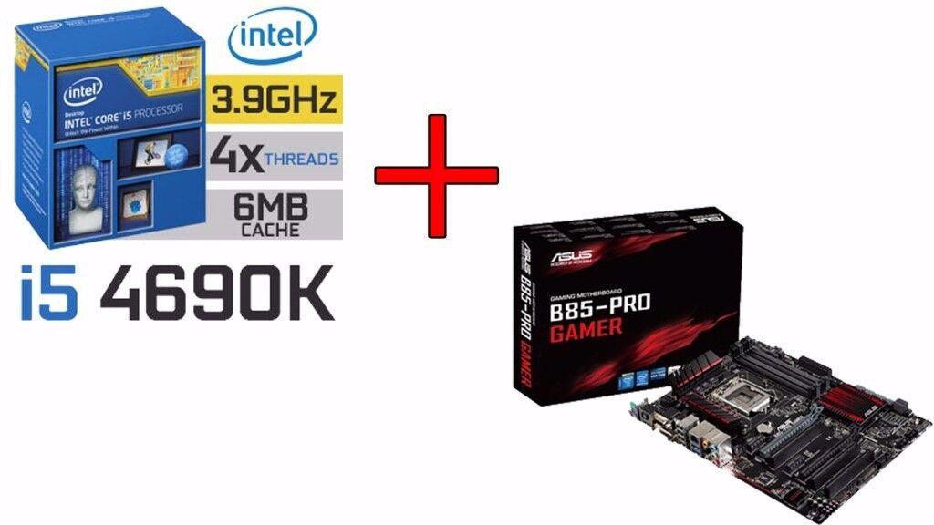 Intel I5 4690K + ASUS B85-PRO GAMER | in Chelmsford, Essex | Gumtree