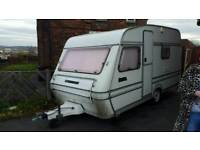 CHEAP 4/5 BERTH CARAVAN TIDY