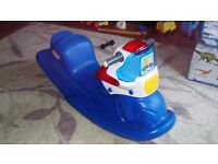 Little tikes police rocker