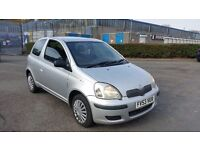 2003 (53) Toyota Yaris 1.0 VVTI 3dr For Sale, £595, Mot'd til 20/10/2017 & 3 Months Warranty