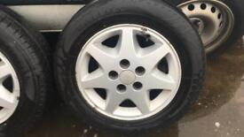 Old ford alloy wheels (Granada, escort, Sierra, mondeo)