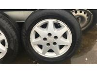 Old ford alloy wheels (Granada, escort, Sierra, mondeo)