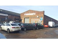 For Lease unit 13 Fenlake Road Industrial unit Garage car repairs/storage 2000sqft