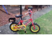 """Boys Raleigh """"Ollie"""" Bicycle to suit approx age 4 to 5 years"""