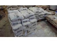 Lagan white cement 25kg bags