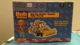Bob The Builder Shaped Floor Puzzle