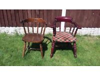 2 x Captain Style Chairs *PROJECT*