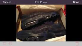 Nike 110s dark blue size 10