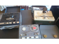 Vintage Rare Reel To Reel Players Spare Or Repair £45 ONO