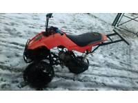 125cc custom built trike quad moped