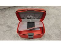 Carlton Red Hard Vanity Case