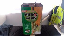 Nitro mors paint varnish stripper 4 litre 3 available